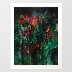 Mixed Feelings Art Print by Work the Angle - $17.00