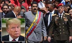 Donald Trump missed chance to woo Venezuela generals by rejecting a general's visa request | Daily Mail Online Farm Hero Saga, Donald Trump, Mail Online, Daily Mail, Venezuela, Donald Tramp