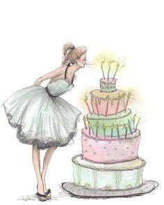 """Let Them Eat Cake""  ~~  Artist ~Inslee Haynes~  April 16 2011"