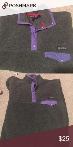 Patagonia Sweatshirt Gently worn Patagonia sweatshirt! Patagonia Tops Sweatshirts & Hoodies