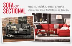Sofa or Sectional: How to Choose the Right Seating   Value City Furniture