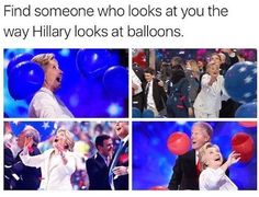 This is adorable lmao. Old people (yeah ik she's not THAT old but come one she'll be 70 next year) but old people are just adorable. Even if they are hillary clinton.