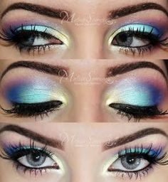 Summer Make Up. The purple just makes this look so unique. Summer Make Up. The purple just makes this look so unique. - Das schönste Make-up Pretty Makeup, Love Makeup, Makeup Inspo, Makeup Inspiration, Makeup Ideas, Makeup Tutorials, Sweet 16 Makeup, Crazy Makeup, Gorgeous Makeup