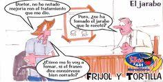 Frases, chistes, anécdotas, reflexiones, Amor y mucho más.: Chiste Frijol y Tortilla. El jarabe, Nuestro Diario Guatemala.
