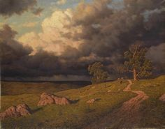 Ivan Fedorovich Choultsé (1877-1932), The Approaching Storm
