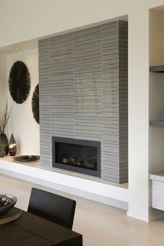Best 12X24 Porcelain Tile On Fireplace Wall And Return Walls 400 x 300