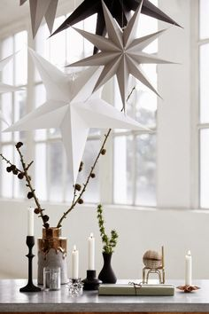 Pretty Christmas inspiration in white, pastel and gold - my scandinavian home