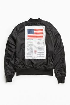 Slide View: 1: Alpha Industries Dragonfly Bomber Jacket