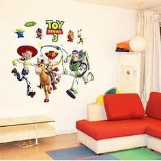 Disney™ Pixar™ Toy Story 3 Wall Stickers. Only at www.pandadeals.co.uk