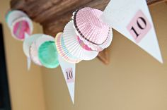 Cooking Party - Cupcake Liner Garland
