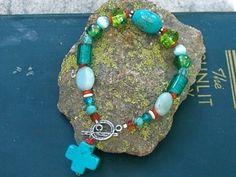 Turquoise bracelet $35 #turquoise #bracelet