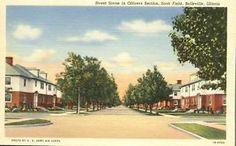 Officers Section Scott Field     Belleville, Illinois - 1941