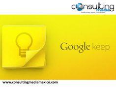 SPEAKER MIGUEL BAIGTS. Google Keep, es una aplicación que dispone de una interfaz bastante simple por lo que es muy sencilla de utilizar y sirve para crear notas y listas. Aunque por ahora solo está disponible para sistema Android.   #miguelbaigts