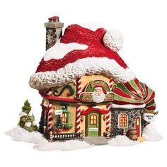 Amazon.com: Department 56 North Pole Santas Hat Inn: Home & Kitchen