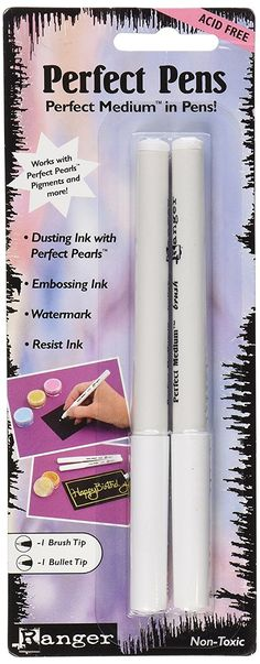Ranger Perfect Pens Set Clear Pack of 2