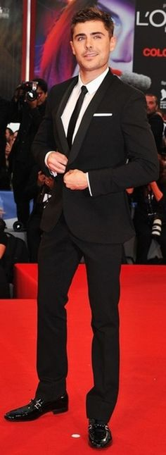 Zac Efron!!!!!!!!!!!!!!!!!!!!!! The man can even wear a suit well..