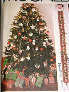 Vintage McCalls Christmas Ornament Pattern Tree by TheIDconnection, $12.00