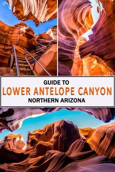 Lower Antelope Canyon in Northern Arizona is a one of kind spectacle of nature. This unique and surreal destination is a must for travelers visiting the region. Learn the differences between Upper and Lower Antelope Canyon here and find out which you shou Arizona Road Trip, Arizona Travel, Road Trip Usa, Sedona Arizona, The Wave Arizona, Moab Utah, Utah Hikes, Scottsdale Arizona, Phoenix Arizona