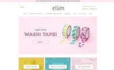 Elum Designs - Letterpress