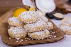 Lemon Coconut Haystacks | Home & Family | Hallmark Channel