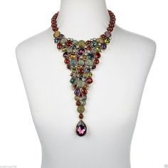 Heidi Daus Jewelry Collection | Heidi Daus I Confess Beaded Crystal Drop Necklace SWAROVSKI SCREAMS ...