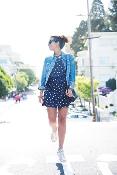 30 Ways to Wear Polka Dots and Not Look Like a Child | StyleCaster