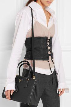 7c99d0b8201b Prada - Galleria medium textured-leather tote