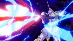 第5話「激突・赤い彗星」機動戦士ガンダムユニコーンRE:0096 Unicorn Gundam, Gundam Model, Mobile Suit, Star Wars, Darth Vader, Robots, Fictional Characters, Suits, Board