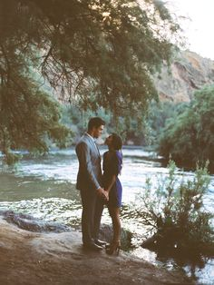 Inspired by This Arizona River Engagement   Inspired by This Blog