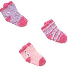 Disney Princess Baby Toddler Girl Socks, 3-Pack, Size: 12 - 18 Months, Pink