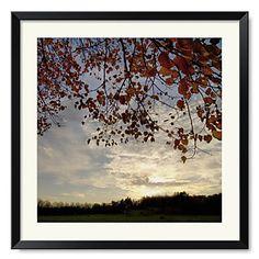 Framed+Art+Print+Landscape+Sundown+Square+by+Harold+Silverman+-+Landscapes+–+CAD+$+55.94 Online Art, Framed Art Prints, Landscapes, Living Room, Painting, Outdoor, Paisajes, Outdoors