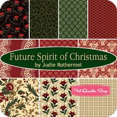 Future Spirit of Christmas Fat Quarter Bundle Judie Rothermel for Marcus Brothers Fabrics #fqsgiftguide