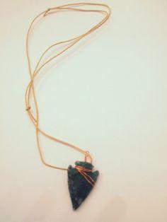 Axle's Arrowhead Necklace