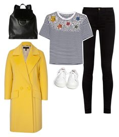 """Untitled #1040"" by yurithisandthat ❤ liked on Polyvore featuring Gucci, Miu Miu, Ash, ESCADA and French Connection"
