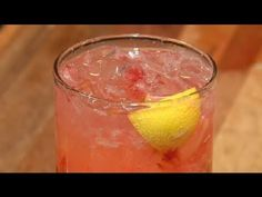 How to Make Drinks With Strawberries & Lemons Mixed Together : Cocktails & Mixology - YouTube