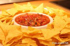 Schnelle Pfirsich Salsa | Chilichef