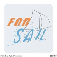 For Sail Square Paper Coaster