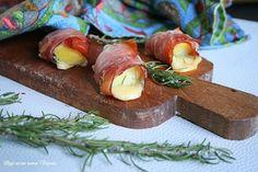Con patate e speck si possono preparare degli sfiziosi e veloci bocconcini con hemmental, dei piccoli antipasti che si possono mangiare anche secondo piatto