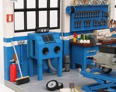 Dream Garage | Officina Super Sprint | Classic Vespa Workshop | by Andrea Lattanzio