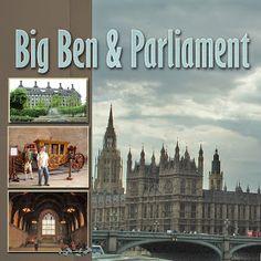 Recent Scrapbook Pages: London - Big Ben