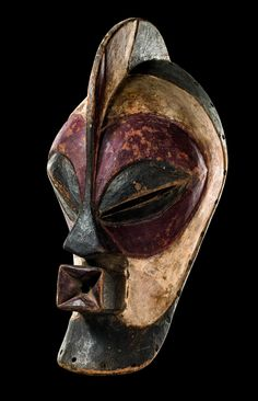 "Africa | Mask ""kifwebe"" from the Songye people of DR Congo 