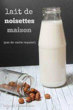 lait de noisettes maison