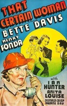 That Certain Woman (1937) Bette Davis, Henry Fonda