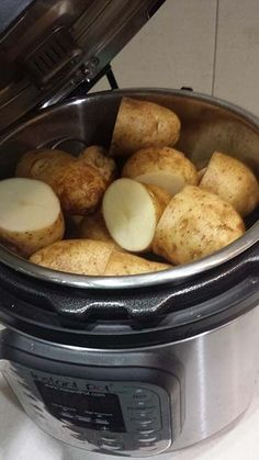 Baked Potatoes in the Instant Pot | makerealfood.com