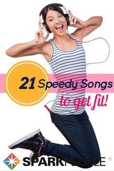 You'll love to get fit to these fast, heart-pumping tunes! Listen to them while running, lifting, walking or just when you want to add a little pep to your step.