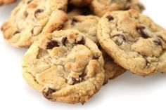 Carob Chip Cookies – Chatfield's Brand Gluten Free Peanut Butter, Gluten Free Chocolate Chip Cookies, Perfect Chocolate Chip Cookies, Chocolate Peanut Butter, Dessert Sans Gluten, Gluten Free Desserts, Fun Desserts, Paleo Sweets, Dessert Recipes