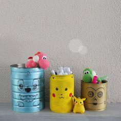 Pot à crayon Stitch Disney, Pikachu Pokemon, Star Wars, Yoshi DIY Pikachu, Pokemon, Yoshi, Star Wars, Diy, Stitch, Home Decor, Full Stop, Decoration Home