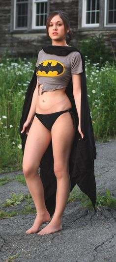 Batgirl cosplay - quite simply & rudimental :)