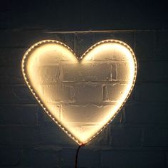 Heart Wall Light - statement lighting