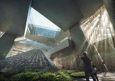 "Weston Williamson + Partners ""Science City"" Competition : @poche_architecture"